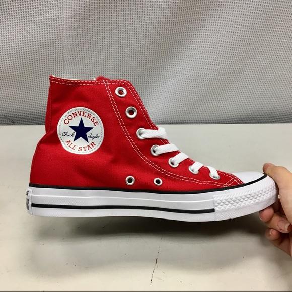 5faeb743d76e Men s Red Converse High Top